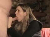 Amateur mature wife swallows every drop
