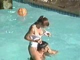 Voyeur video in a swimming pool
