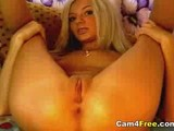 Really Hot Blonde Teen On Webcam