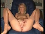 German mature wife playing with herself