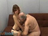 Old guy fucks young chick!