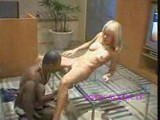 Black guy fuck young blonde girl