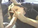 Homeclips - Blowjob - Swallow In Car
