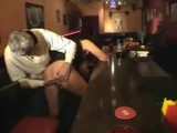 Busty Amateur fucked in a pub