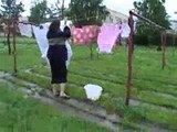 Russian mature housewife with young boy 1